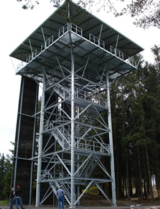 Custom Repelling Tower by Western Utility & telecom