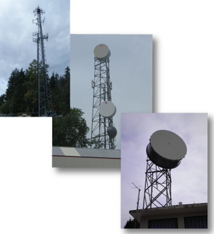 Telecommunication Towers, Poles, and Antenna Mounts