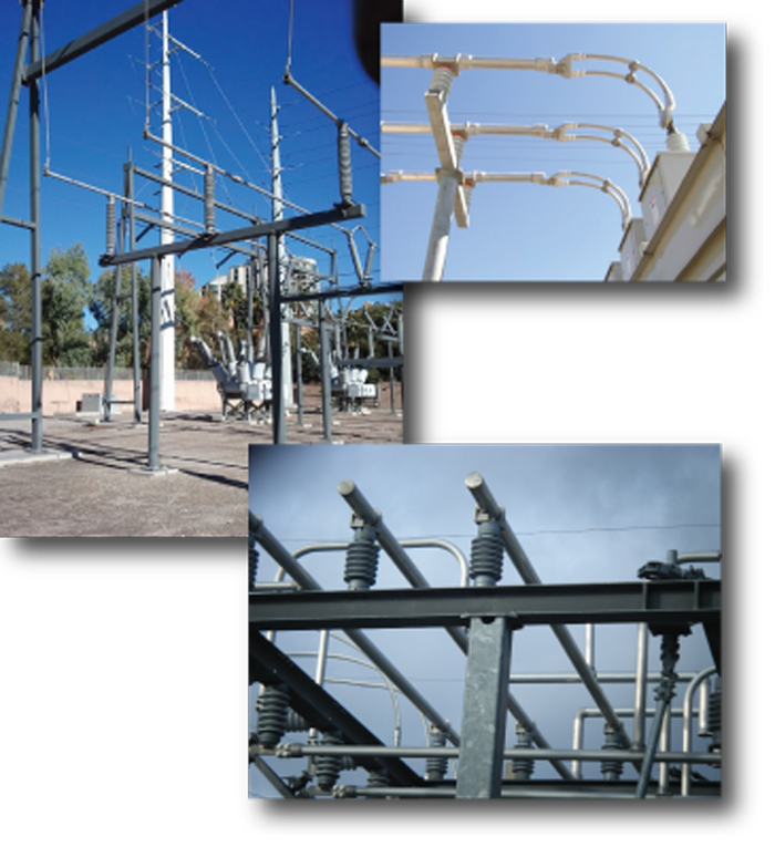 Transmission, Distribution, and Substation Steel Structures